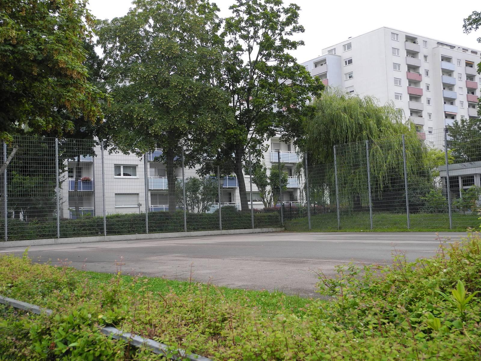 Bolzplatz Löscher