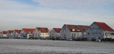 Ortsansicht der Gemeinde Möglingen