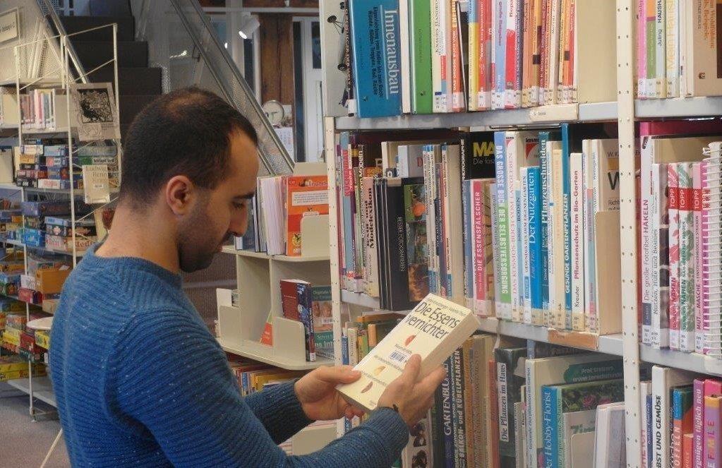 Bücherei Ehrenamtlicher Helfer