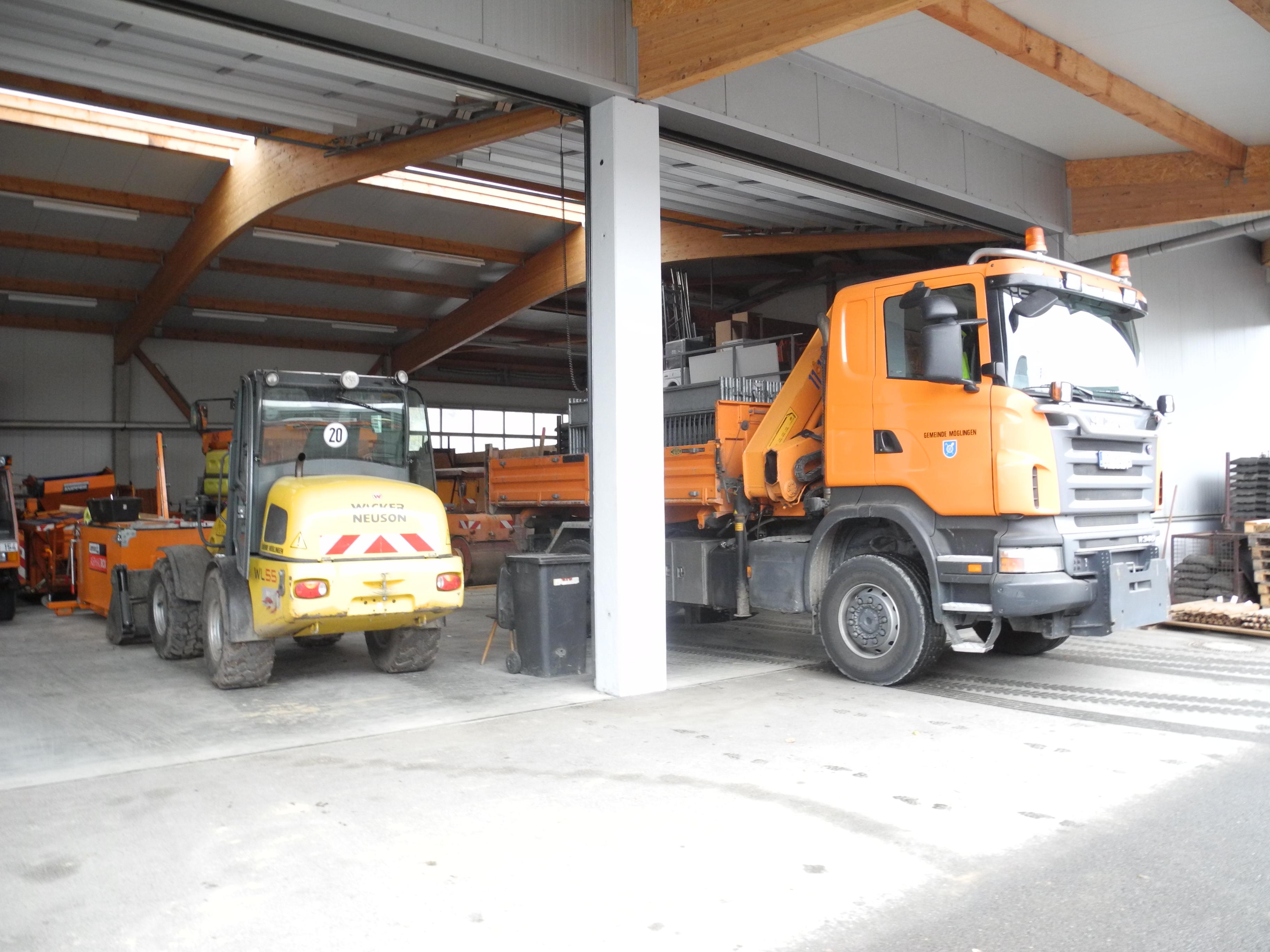 Bauhof Fahrzeuge