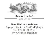 Bert Häcker Weinbau Logo