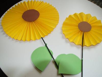Sonnenblumen Papier