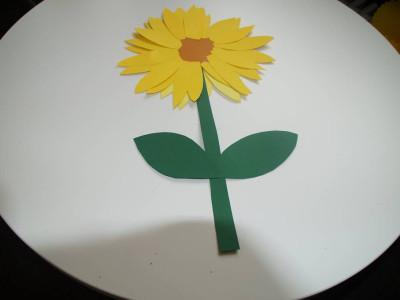 Sonnenblume Papier